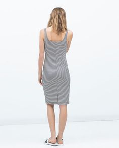 ZARA - WOMAN - BASIC SLEEVELESS DRESS
