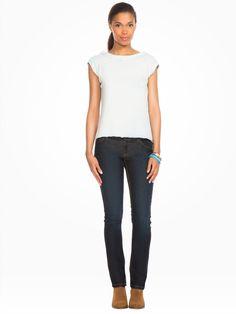 Jean 5 poches regular - Voir tous les produits femme - FEMME - VÊTEMENTS