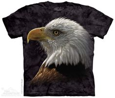 New The Mountain Bald Eagle Portrait T Shirt