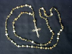 Gold Rosary by JC John Chatterton: Portrait of a Shadow Diver