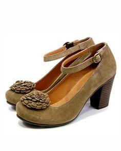 Gioseppo Flower Detail Heels