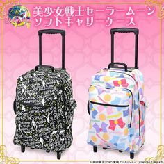 """Sailor Moon anime"""" suitcase carry-on bag rolling case"""