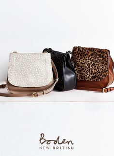 Our cross-body satchel in luxuriously soft leather ticks all the boxes for style and practicality. The traditional shape gets a playful update with a printed pony flap, while internal zip pockets and extra-strength magnetic snaps keep all your valuables safe.