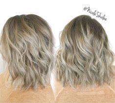 Simply the Best Hair Shades for Brunettes Dark Roots Blonde Hair Balayage, Blonde With Dark Roots, Bronde Hair, Balayage Hair, Root Smudge Blonde, Shadow Root Blonde, Hair Color Dark, Cool Hair Color, Dark Hair