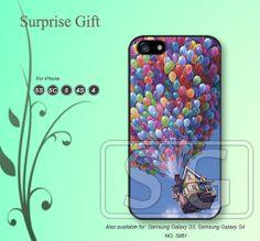 Phone 5 case iPhone 5c case iPhone 5s case iPhone 4 case iPhone 4s case, iPhone case, Phone case Disney, UP Fiy  --S064