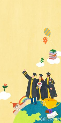 #Graduation #school #student #spring #illustration #stockimage #npine #iclickart