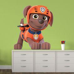 Vinilos Infantiles: Patrulla Canina - Zuma. Habitación infantil #Patrulla #Canina #infantil #deco #decoración #vinilo #pared #Zuma #TeleAdhesivo
