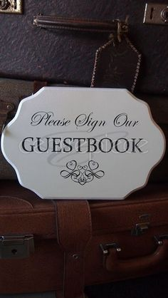 Sign Guestbook Wedding Signage, Guestbook, Centerpieces, Signs, Wedding Stuff, Wedding Signs, Shop Signs, Centerpiece, Sign