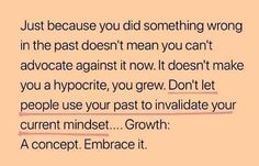 Growth! Don't Let, Let It Be, People Use You, Toxic Family, Something To Do, The Past, Make It Yourself