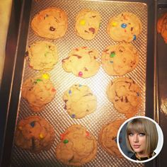 """Taylor Swift claims the cookies were """"a real turning point"""" in her life"""