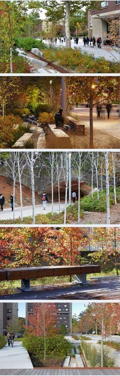 Southwest Concourse revitalization, UMass Amherst campus, by Steven Stimson Associates Landscape Architects. Click image for link to full profile and visit the slowottawa.ca boards >> http://www.pinterest.com/slowottawa