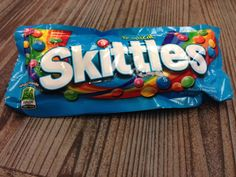 Tropical Skittles provide calorie information for consumers right on the front of the pack to help you #treatright.