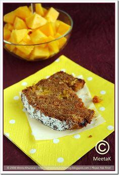 Mango & Ginger bread