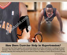 How Does Exercise Help in Hypertension?