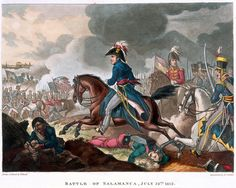 Battle of Salamanca, 22nd July 1812