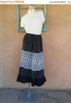 Check out this item in my Etsy shop https://www.etsy.com/listing/195309220/on-sale-vintage-1970s-maxi-skirt-boho