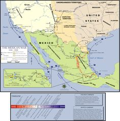The Mexican–American War, also known as the Mexican War, the U.S.–Mexican War or the Invasion of Mexico, was an armed conflict between the United States and the Republic of Mexico from 1846 to 1848.