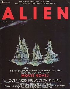 BLACK HOLE REVIEWS: ALIEN merchandise and publicity from 1979