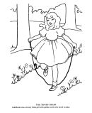Classic Mother Goose And Fairy Tale Story Coloring Pages
