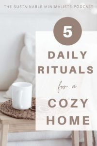 Have 4 walls and a roof? If so, you probably also have housework. And if you are fortunate to have a family, you likely have household chores on your To-Do list every single day. On this episode of The Sustainable Minimalists podcast: author Becky Rapinchuk shows us how to simplify household chores and create peaceful homes by enacting 5 specific daily rituals (and 6 weekly systems!) without adding extra work.