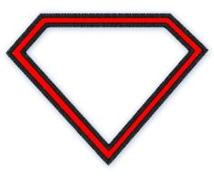 Instant Download -SUPERMAN silohuette 198- Machine Embroidery design -  applique and Fill stitch on Etsy, $3.50