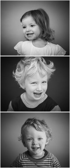 Pop-up studio portraits, Reading, Berkshire, UK. Family photographer offering school, nursery and playgroup photography. Black and white portraits.