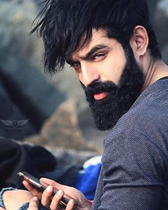 Our society has lost something meaningful concerning Men's Beard Styles. The rich depth and history of facial hair has been … Beard Styles For Men, Hair And Beard Styles, Long Hair Styles, Beard And Hairstyles, Man Bun Styles, Asian Hairstyles, Trendy Haircut, Conditioner For Men, Beard King