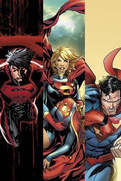 dc comics Superman and Batman 2013 art   Newsarama   DC May 2013 SUPERMAN Family Solicitations Preview Page 1