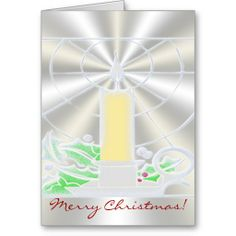 Opalescent Christmas Candle Greeting Cards. http://www.zazzle.com/christmas_candle-137226933618642413?rf=238575087705003771
