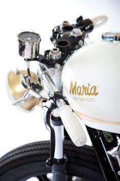i'm jealous, i want mine !   Maria Motorcycles XS650 @Maria Canavello Mrasek Canavello Mrasek Galleriu
