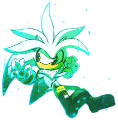 Silver the hedgehog by Omiza on DeviantArt