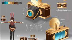 Velvet Camera Weapon Renders RWBY Rwby Velvet, Velvet Scarlatina, Rwby Pyrrha, Rwby Oc, Rwby Characters, Cosplay Weapons, Rwby Anime, Game Concept Art, Rooster Teeth