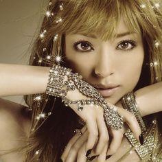 Beautiful Japanese singer, songwriter and former actress Ayumi Hamasaki