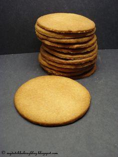 The Dutch Table: Jodenkoek (Dutch Jewish Cookies) yummy Jewish Cookies, Dutch Cookies, Giant Cookies, Dutch Recipes, Jewish Recipes, Typical Dutch Food, Cookie Recipes, Dessert Recipes, Dutch Desserts