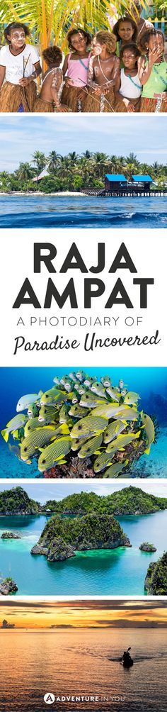 Raja Ampat | Discover this little slice of paradise through this stunning photo diary of one of Indonesia's best kept secrets