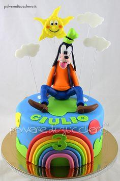 Torta Pippo per il compleanno di un bimbo Goofy cake for the birthday of a child