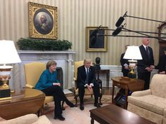 Welcome to Ele & Elis Blog: President Trump, Merkel hold joint press conferenc...