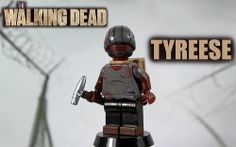 Custom LEGO The Walking Dead: Season 4 | Tyreese | Flickr - Photo Sharing!