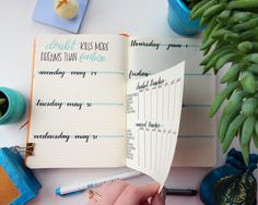 Kick your bullet journal to another level with these 11 bullet journal hacks! They're easy to do, fun, and super effective!