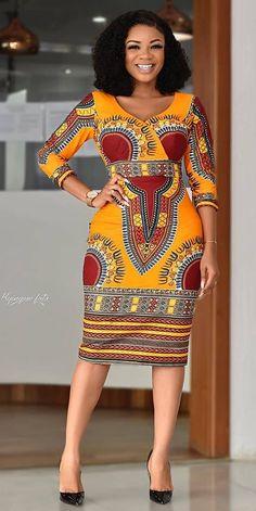 African fashion dress, Dashiki styles for ladies African fashion. - African fashion dress, Dashiki styles for ladies African fashion dress, Serwaa Amihere in Dashiki styles for ladies Source by - African Dashiki Dress, African Fashion Ankara, Latest African Fashion Dresses, African Dresses For Women, African Print Fashion, African Attire, African Women Fashion, African Dress Styles, Ladies Long Dresses