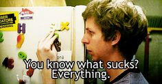 find-a-reaction-gif - Posts tagged scott pilgrim vs the world How I Feel, How Are You Feeling, Citations Film, Michael Cera, Vs The World, Vida Real, Finals Week, Romantic Love Quotes, What Is Like