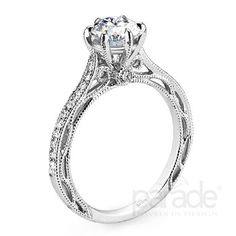Parade Engagement Rings Style: R2909/R1