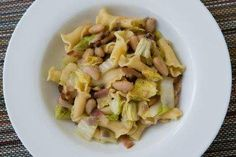 Recipe: Pasta With Cannellini Beans, Cabbage and Bacon