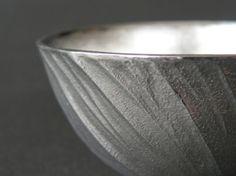 京都の錫器作家が作った錫のぐい呑み