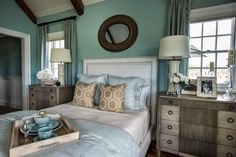 master bedroom in the HGTV Dream Home 2015