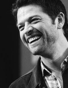 Misha and his gorgeous smile <3 will be the death of me.