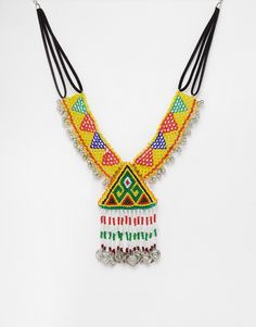 Image 1 ofASOS All Night Carnival Necklace