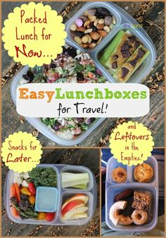 Traveling with @EasyLunchboxes - Lunch and snacks for on-the-go!