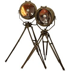 1stdibs | 1943 WWII Crouse-Hinds Military Spotlights