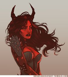 andaglas 's Hellish babe Liena oh man I had too much fun with this commisson * o…
